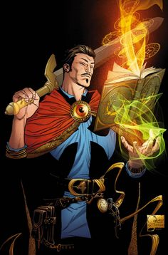 Doctor Strange by Joe Quesada, Kevin Nowlan (from Doctor Strange #1)