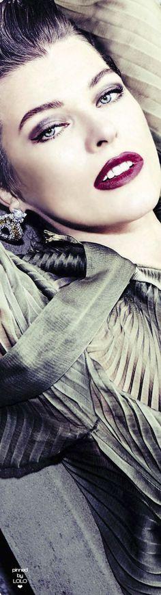 Milla Jovovich Vanity Fair Italia | LOLO❤︎