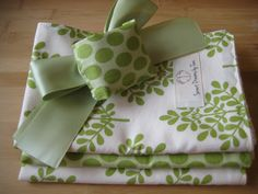 Door Muff & ORGANIC Baby Burp Cloth Set  by sweetdreamsbytami, $34.00