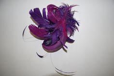 feathers head piece.siguenos en www.teresadeangoitia.com