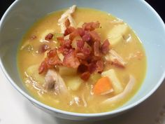 Creamy Potato and Chicken Soup (AIP, nightshade free, dairy free)