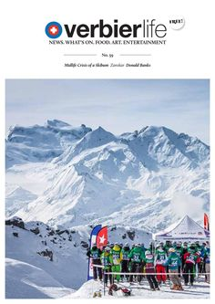 Verbier Life 59 April 2015  Verbier's monthly lifestyle magazine