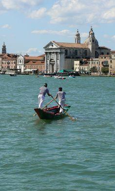 Redentore Regatta on Giudecca Canal, Venice, Italy