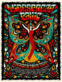 Widespread Panic - Summer Tour 2014 - by Nate Duval