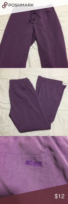 Grey's Anatomy Scrub Pants Purple Grey's Anatomy scrub pants. Size small. Regular length Grey's Anatomy Pants