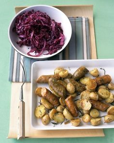 Roasted Chicken Sausage and Potatoes