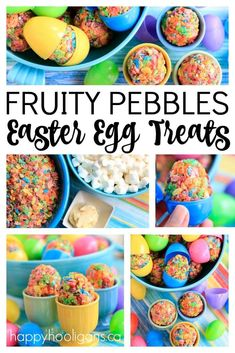 21 Cute & Easy Easter Treats for Kids! Easter dessert ideas to make with your ki. 21 Cute & Easy Easter Treats for Kids! Easter dessert ideas to make with your kids that they'll love. Including some gluten free Easter desserts & treats! Easter Deserts, Easter Snacks, Easter Treats, Easter Recipes, Egg Recipes, Easter Food, Easter Dinner, Easter Brunch, Easter Party