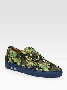 Del Toro - Army Camo Wingtip Sneaker