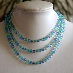 Ocean sky necklace by jarka on Etsy, $38.00