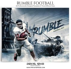 Rumble Themed Sports Template