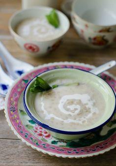 Sweet Wheat Porridge/ Bubur Gandum