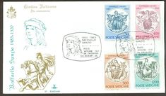 Vatican City Sc# 725-8: Birth of Raphel Sanzio on FDC | eBay