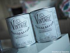 Lipaston upea värimuutos Vintage-maalilla - Sisustus ja Sepustus