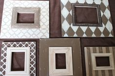Natural Neutral Wall Grouping Gallery of Custom Wood Distressed Picture Frames ANY colors to match your home Diy Wall Art, Wall Decor, Distressed Picture Frames, Wall Groupings, Cute Frames, Neutral Walls, Crafts With Pictures, Shabby Chic Crafts, Framing Photography