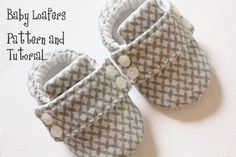 Baby Shoe Pattern  Loafers by petitboo