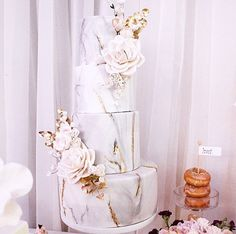 Marble Wedding Cake                                                                                                                                                                                 More
