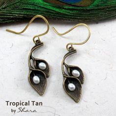 Tropical Tan Earrings Tropical, Drop Earrings, Jewelry, Fashion, Moda, Jewlery, Bijoux, Fashion Styles, Schmuck