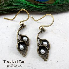 Tropical Tan Earrings