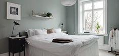 Bildresultat för sovrum grågrönt