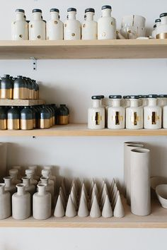 Honeycomb Studio via Waiting on Martha Atlanta Food, Lounge, Restaurant, Retail Design, Stores, Honeycomb, Floating Shelves, Studio, Create