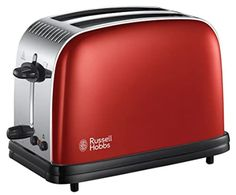 Russell Hobbs Colour Plus 2 Slice Toaster 23330, Red Russel Hobbs, George Foreman, Lotus Grill, French Toast Bites, Electric Toaster, Banana Baby Food, Roasted Artichoke, Cinnamon French Toast, Cheese Toast