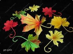 [How to make] Maple leaf paper - Minh Handmade