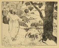 Pastorales Martinique by Paul Gauguin