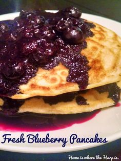 Home is where the Harp is.: Recipe for Fresh Blueberry Pancakes #pancakes