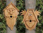 cedar bird houses ~ marymaxim.com