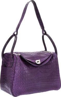Hermes Lindy. Via The Ultimate Visual Guide to Hermès Bag Styles