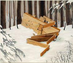 One of my favorite paintings Sean Landers / Plank Boy Hurt / 2009
