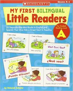 Another great #teacher #resource #book: My First Bilingual Little Readers: Level A: 25 Reproducible Mini-Books in English and Spanish That Give Kids a Great Start in Reading (Teaching Resources) https://www.facebook.com/Mykindergardenclass/photos/a.427801474021061.1073741828.286637944804082/766690566798815/?type=3&theater