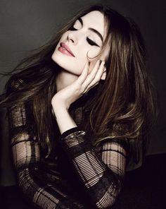 Anne Hathaway. Allure 2012.