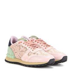 (ヴァレンティノ) Valentino レディース シューズ・靴 スニーカー Lace sneakers 並行輸入品  新品【取り寄せ商品のため、お届けまでに2週間前後かかります。】 商品番号:hb4-p00172201