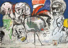 Eddie Martinez - All inclusive Eddie Martinez, Art Basel Miami, Outsider Art, Art Pieces, Island, Canvas, Gallery, Artist, Painting