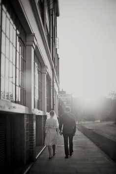 A Very Mod Wedding: Paula & Mark