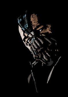 Batman/The Dark Knight Rises  Bane Tom Hardy  par BrianRossArt, $81.00