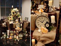 Steam punk wedding #modernweddingvenues