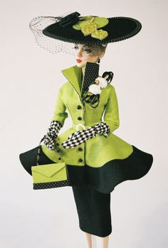 Lime Green Barbie