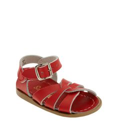 Hoy Shoe Salt-Water® Sandals Red