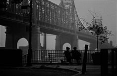 how woody allen saw manhattan, through black and white photographs.