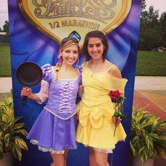 Belle (Disney's Beauty & the Beast) inspired RUNNING costume on Etsy, $315.00
