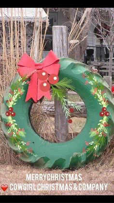 country christmas outdoor wreath - Country Christmas Ornaments