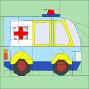 Ambulance - via @Craftsy