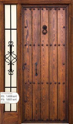 Great front door ideas for your home. Main Entrance Door Design, Door Gate Design, Entrance Doors, Wooden Main Door Design, Tor Design, House Design, Internal Wooden Doors, Glass Panel Door, Glass Panels