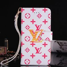 Louis Vuitton Flip Cases For iPhone8/7S/7/6S/6/Plus Red