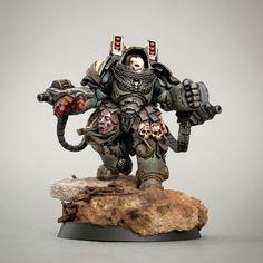 Warhammer Paint, Warhammer 40k Art, Warhammer Models, Warhammer 40k Miniatures, Warhammer Armies, Warhammer Terrain, Enemy Front, Warhammer 40k Space Wolves, Miniaturas Warhammer 40k