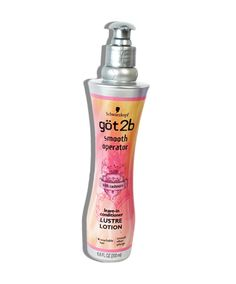 """Got2b Smooth Operator Smoothing Lustre Lotion, $6.49 Why it's great: Readers can't get enough of this product, which leaves hair """"smoother, shinier and softer."""" One reviewer calls it a """"lovely product for coarse hair."""" """"I noticed that I don't get split ends as quickly anymore, and my hair is very soft and easier to comb,"""" she says. Another reader says that this product """"leaves [hair] smooth, lightweight, not greasy and smelling awesome."""""""