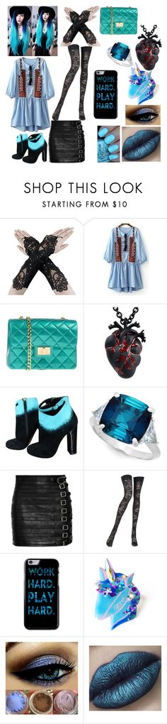"""Untitled #5"" by phoenix4242564 ❤ liked on Polyvore featuring Velvetine, OPI, Design Inverso, Nicholas Kirkwood, Crislu, Gucci and Pierre Mantoux"