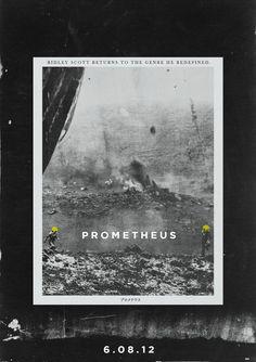 PROMETHEUS FILM POSTER CONCEPT